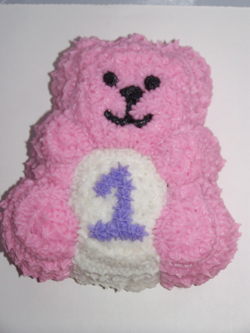 small teddy to go with large for baby
